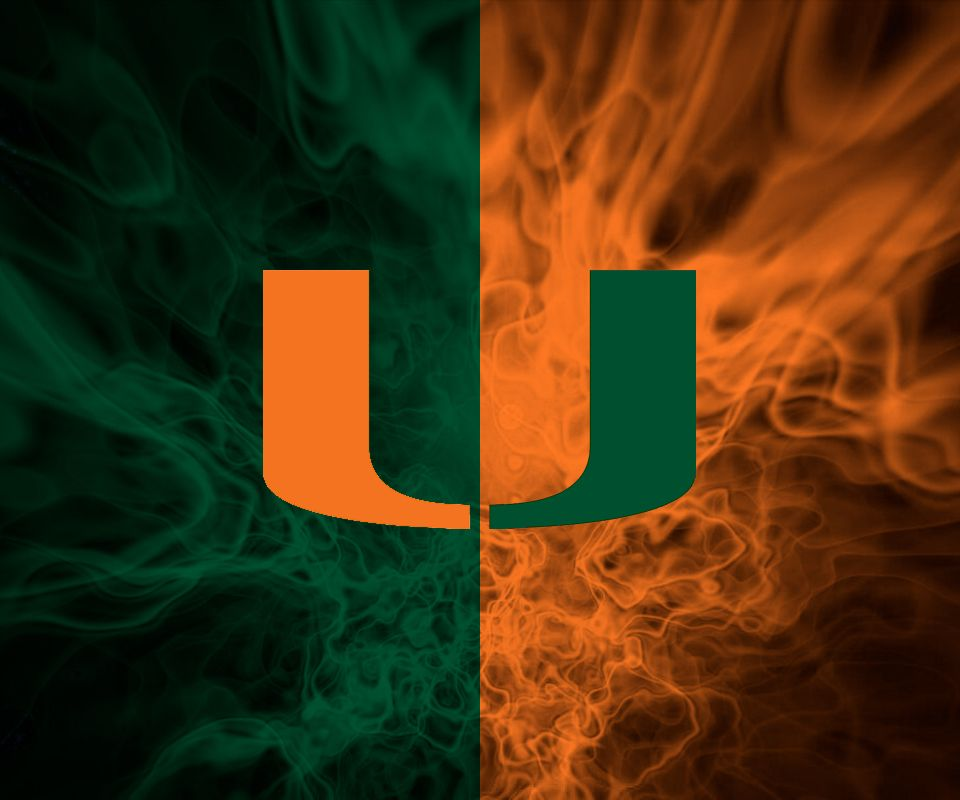 Free Miami Hurricanes Wallpaper Wallpapersafari Miami Hurricanes Football Miami Hurricanes Miami Football