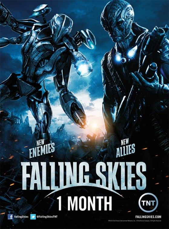 Falling Skies ~ First 2 seasons kind of meh..season 3 turning out to ...