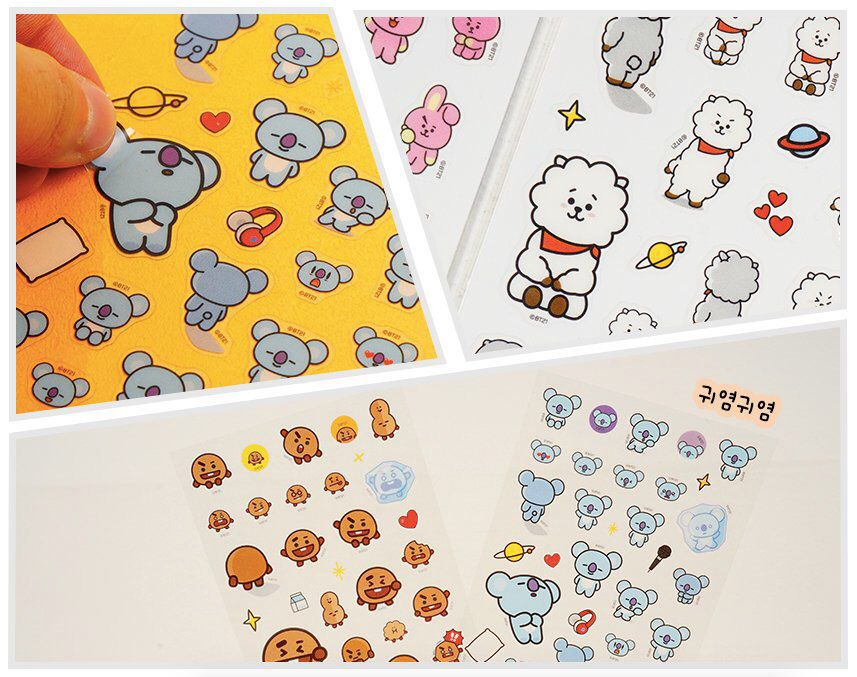 Planner Stickers 6 Sheets of Cute Cat Stickers Scrapbooking Bullet Journal