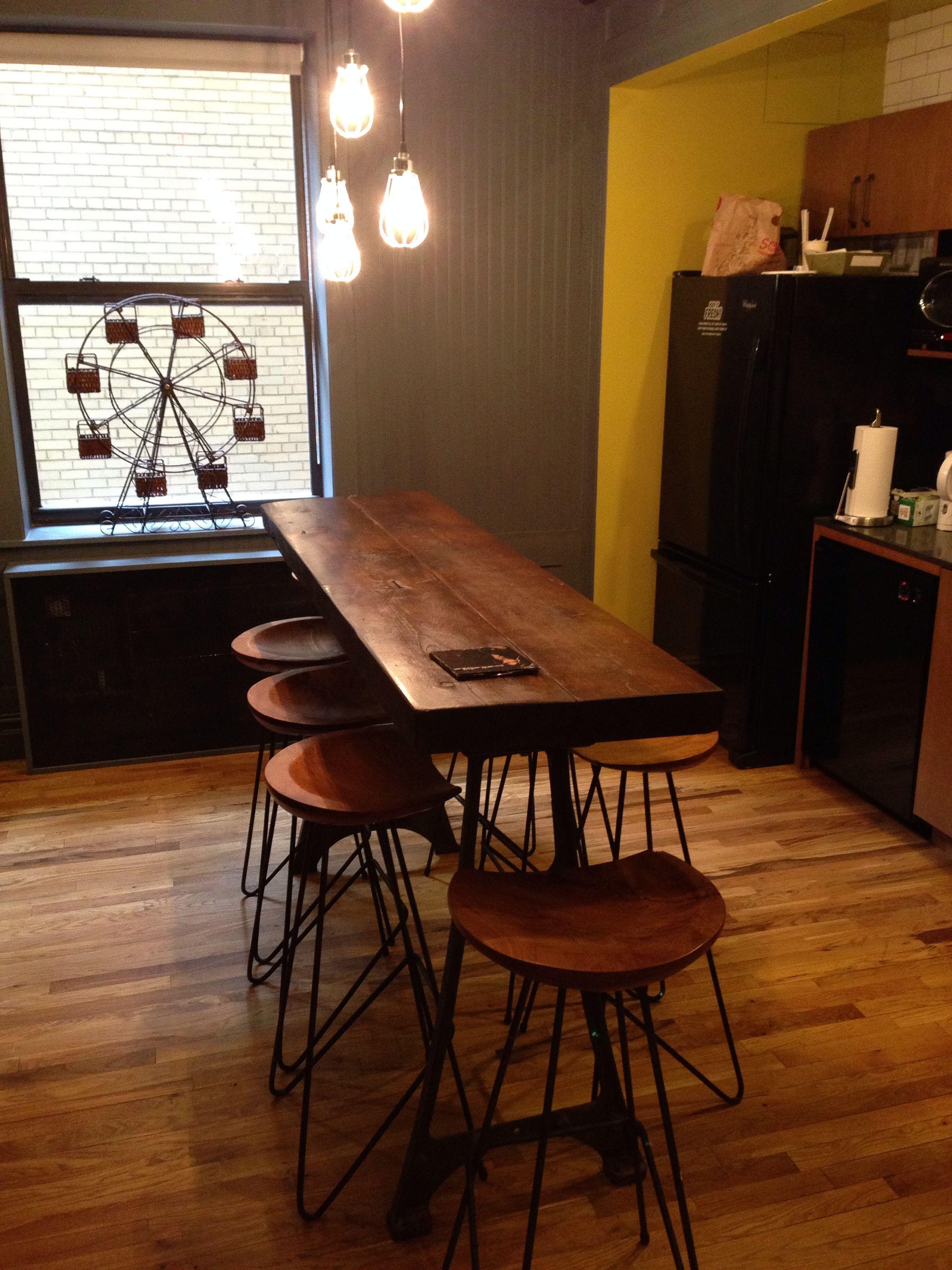 outstanding narrow kitchen island | Narrow kitchen island / breakfast bar | Home Design in ...