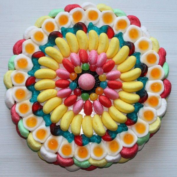 Gateaux en bonbons a faire soi meme - Decoration en bonbon pour anniversaire ...