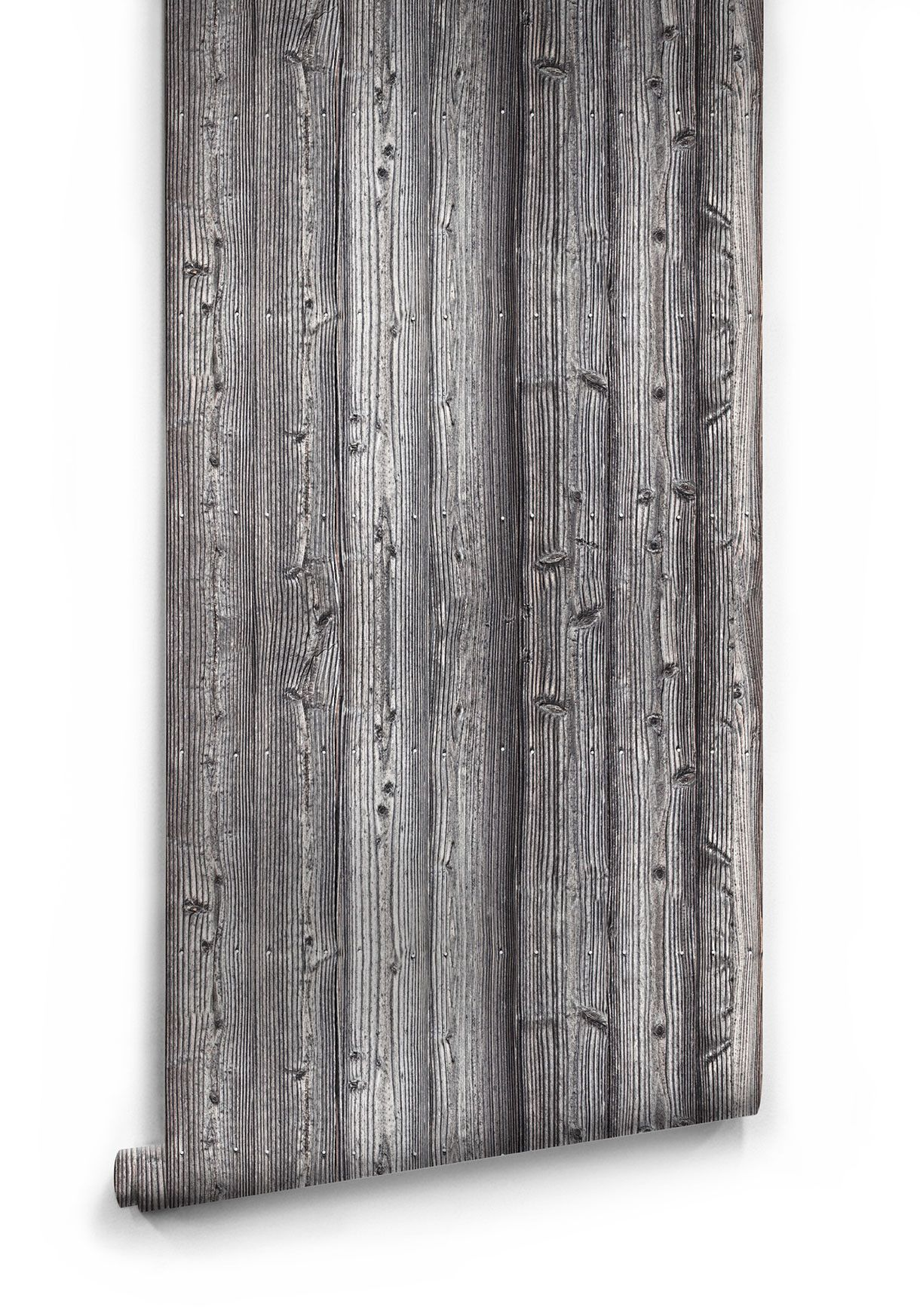 Sample of Saltwashed Wood Boutique Faux Wallpaper design by Milton & King