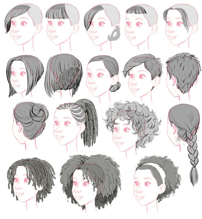 Girl Hairstyle Reference: Tealin: One Of My Other Jobs On BH6 Was To Stock The