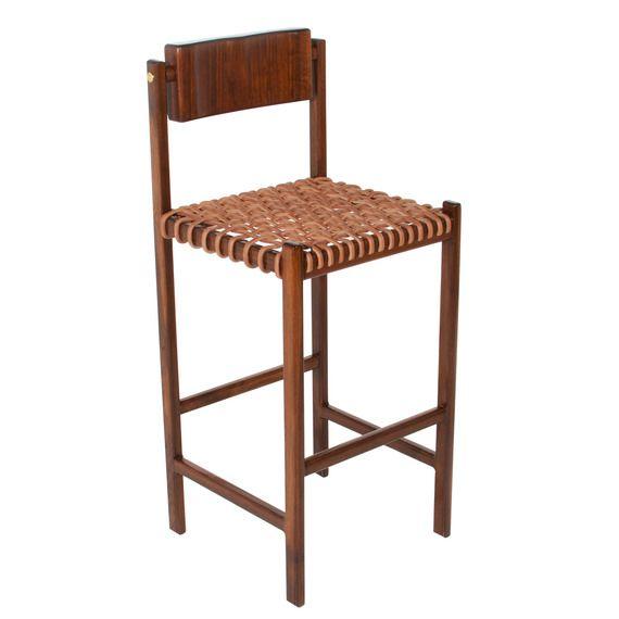 Fine The Basic Wood Bar Stool By Thomas Hayes Studio Dering Machost Co Dining Chair Design Ideas Machostcouk