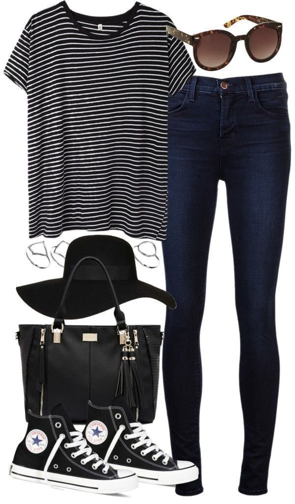 20 great Polyvore outfits for the school