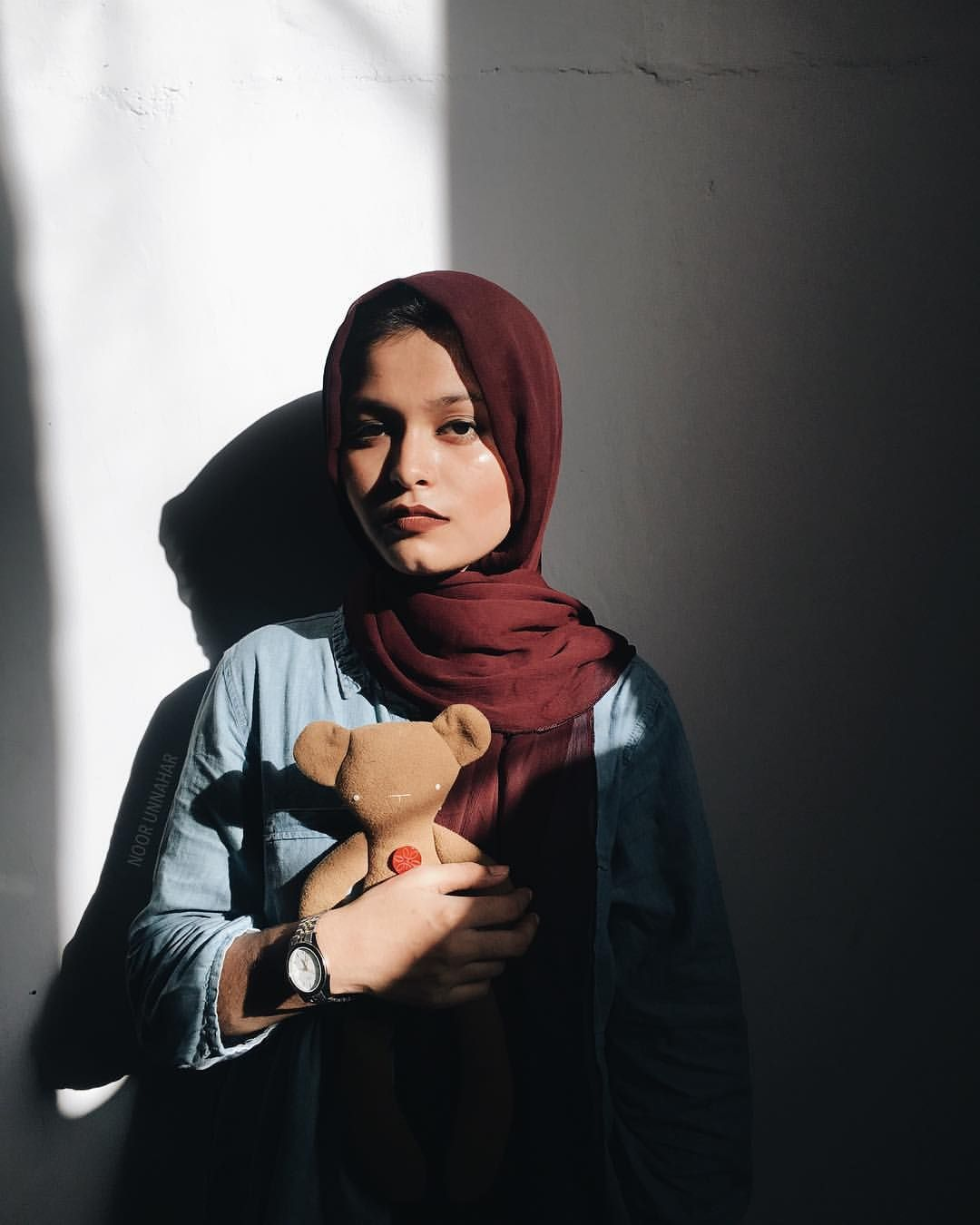 outfit by noor unnahar // modest style, tumblr indie pale ...