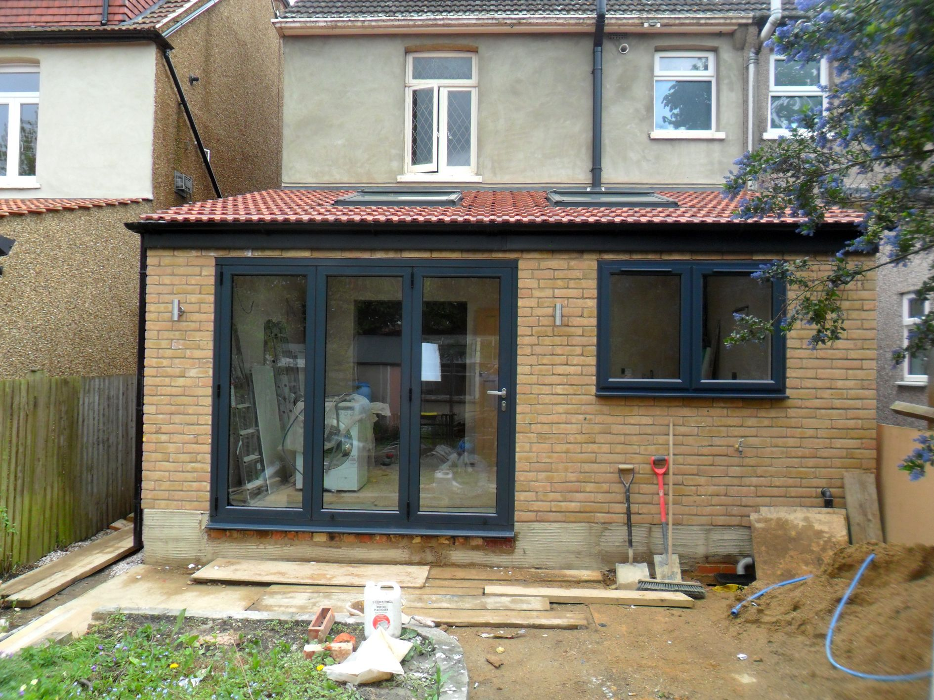 Rear Extension Bifold Doors And Window  Google Search -