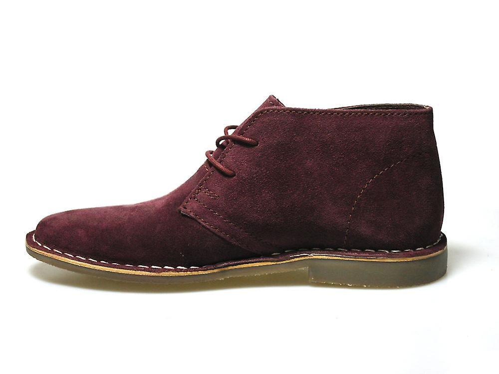 e05304e22c1 Red Tape Gobi Burgundy Suede Casual Men's Desert Boots   Fruugo ...