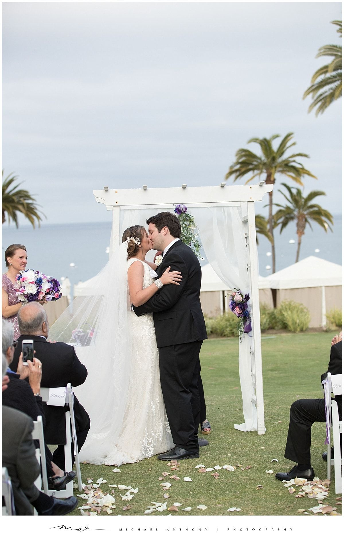 Catalina island destination wedding los angeles wedding