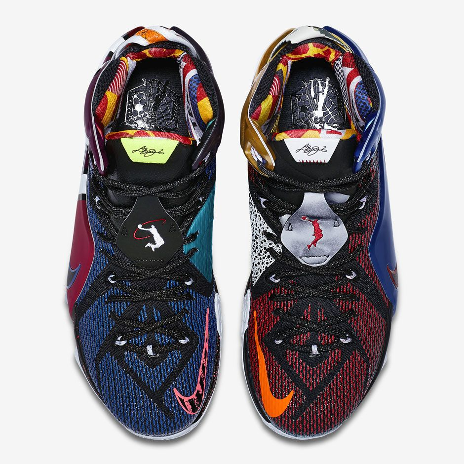"""A History Of Nike Featured On The """"What The"""" LeBron 12 Page 2 of"""