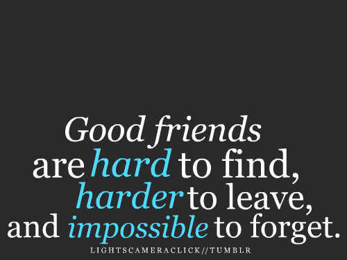 Good Quote About Friendship Inspiration Good Friend Quotes  Goodfriendsarebestfriendshipquote_Large