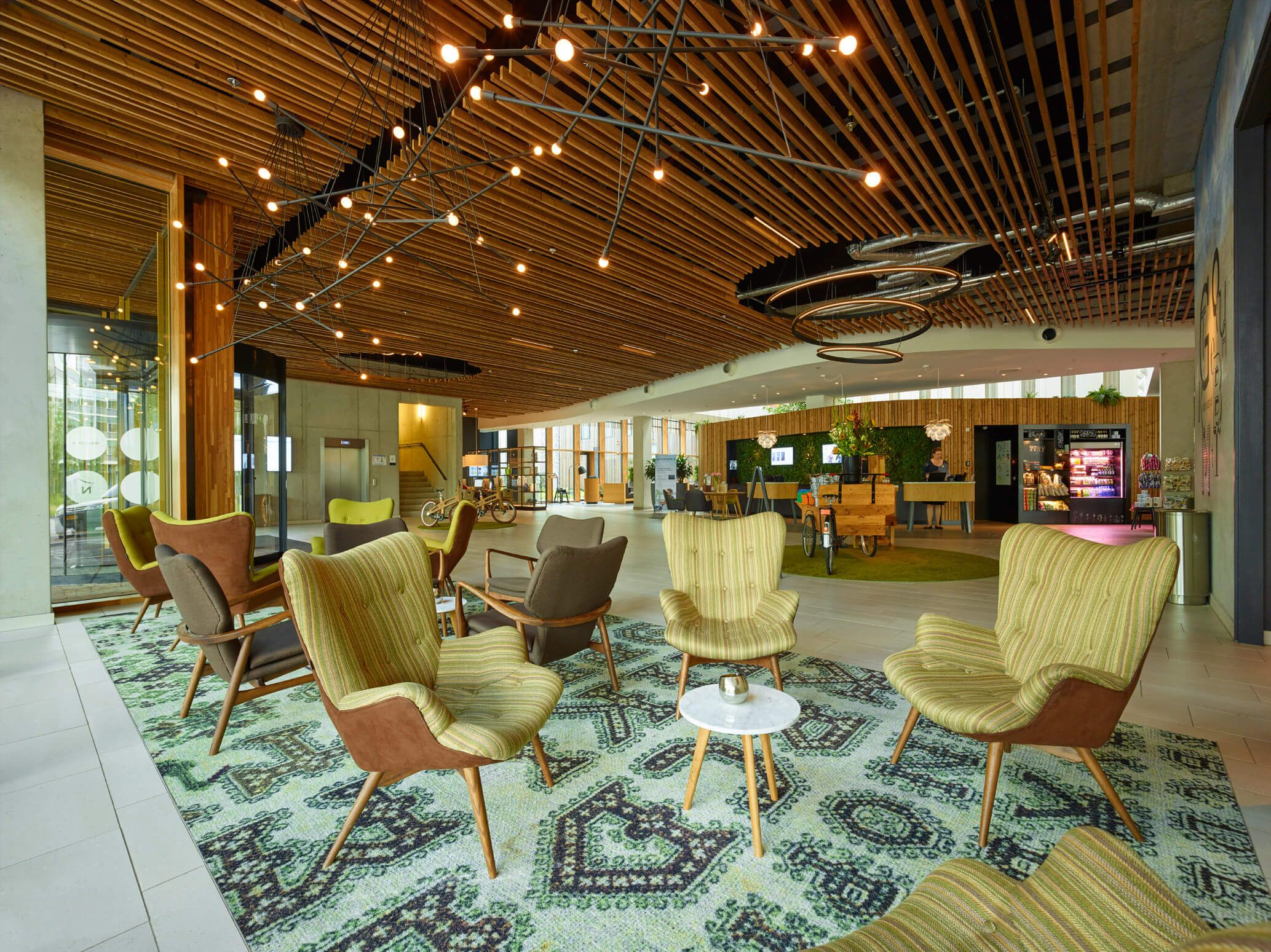 Hotel Novotel Schiphol Airport, Amsterdam. Lounges