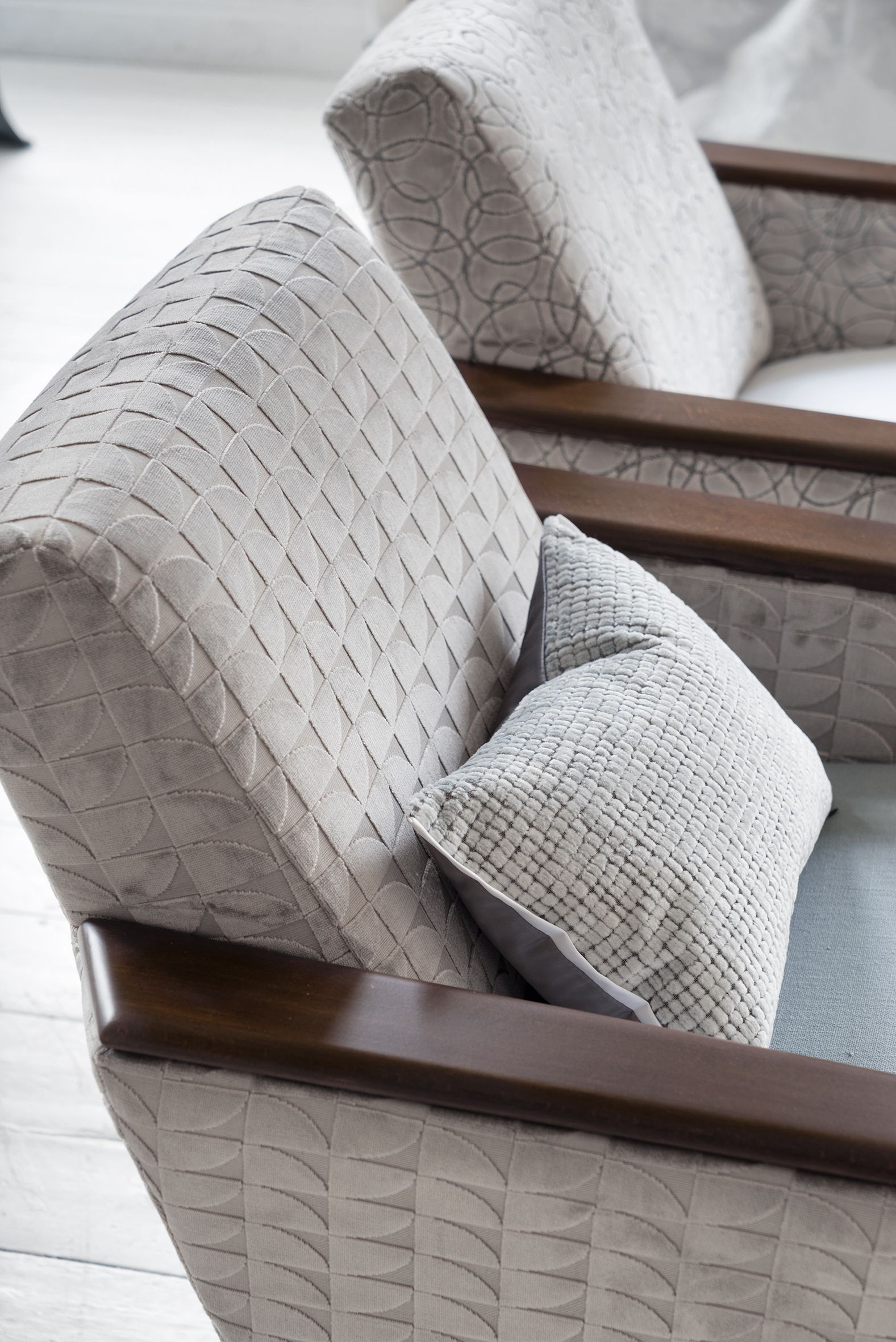 Designers Guild Wedge Chairs