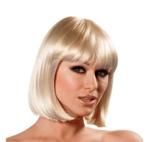 Charm Premium Sunny Blonde Bob Wig Party City Blonde Bob Wig Wig Party Bob Wigs