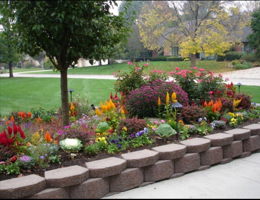 Pin By Gling13 On Tip Gardening Backyard Porch Garden Flower Beds