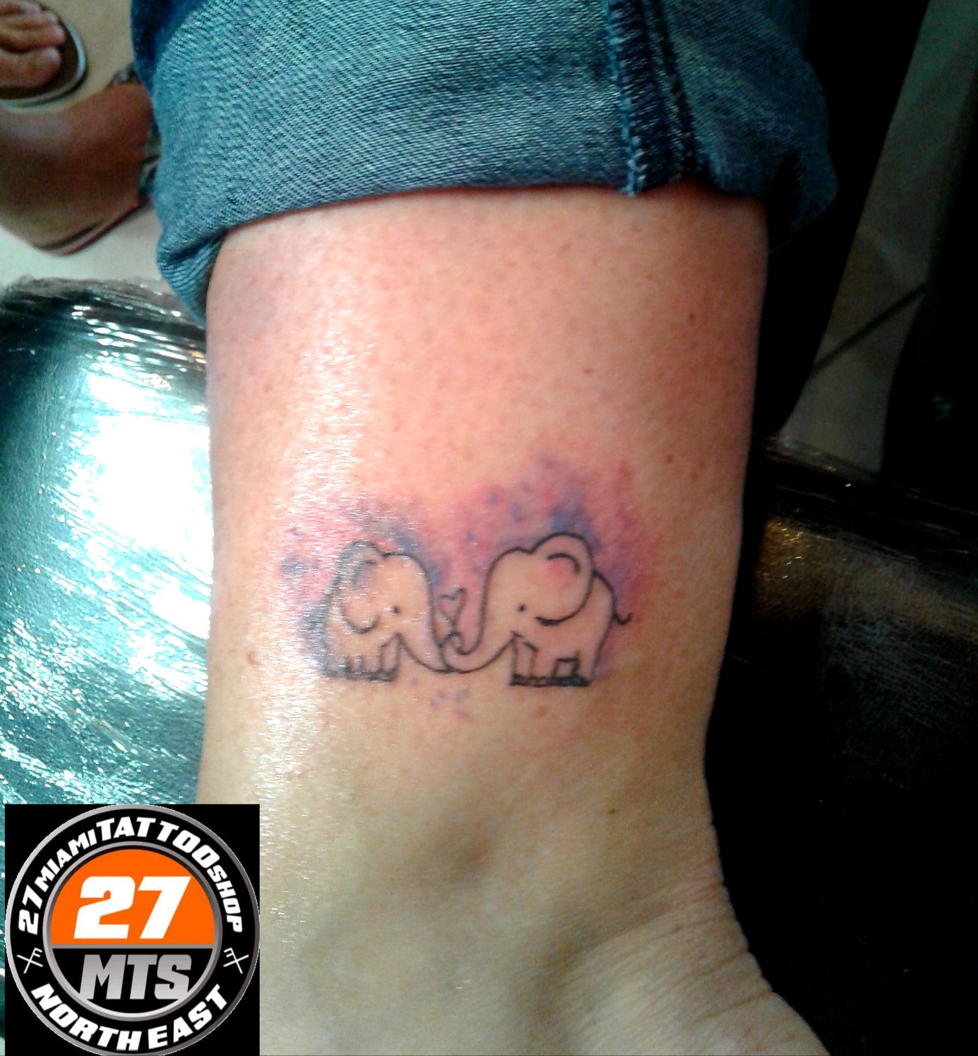 Little elephants tattoo near me tattoo shop tattoos