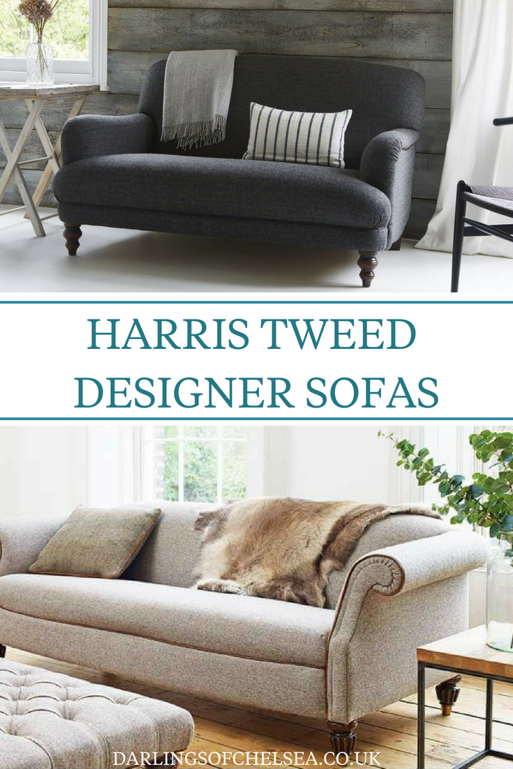 Harris Tweed, the perfect traditional designer sofa, loved ...