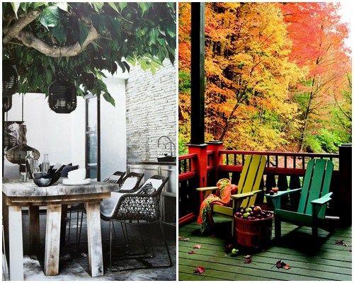 Ideas de decoración inspiradoras para porches, jardines y terrazas 6 - jardines en terrazas