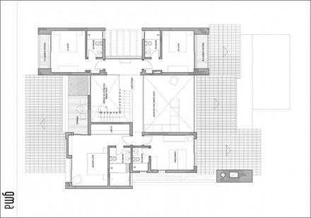 Plano Casa Moderna Con Piscina Casa Ckn Cosas Para Ponerme - Plano-casas-modernas
