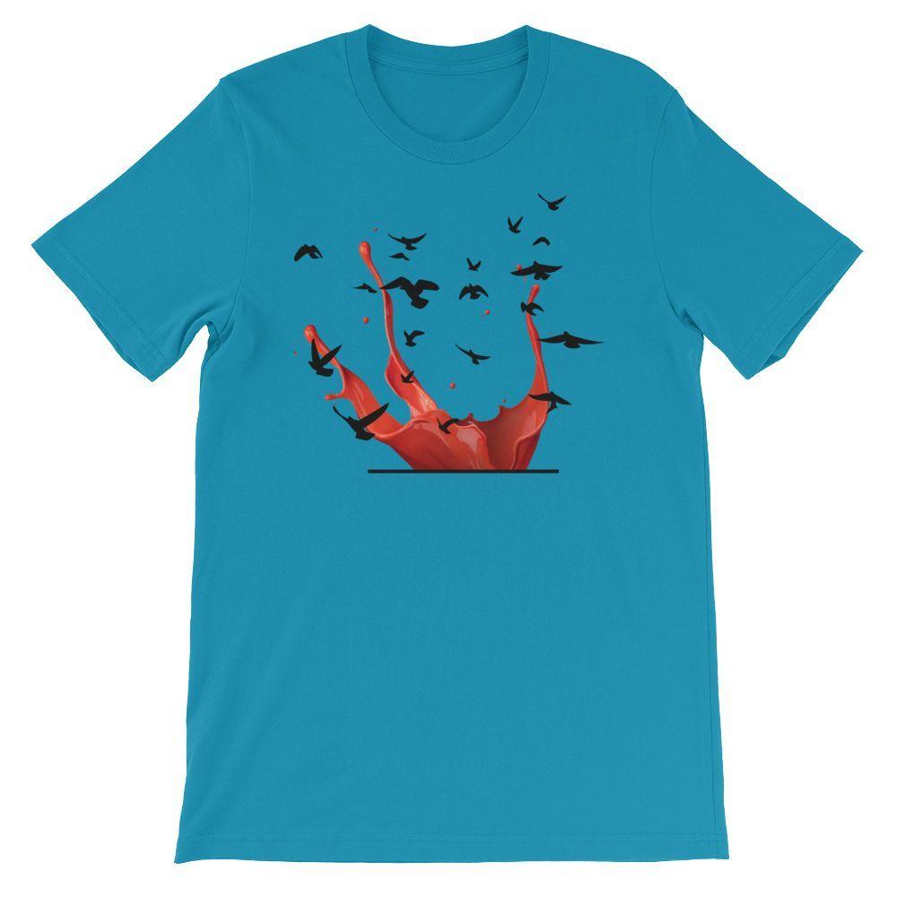 black birds Short-Sleeve Unisex T-Shirt