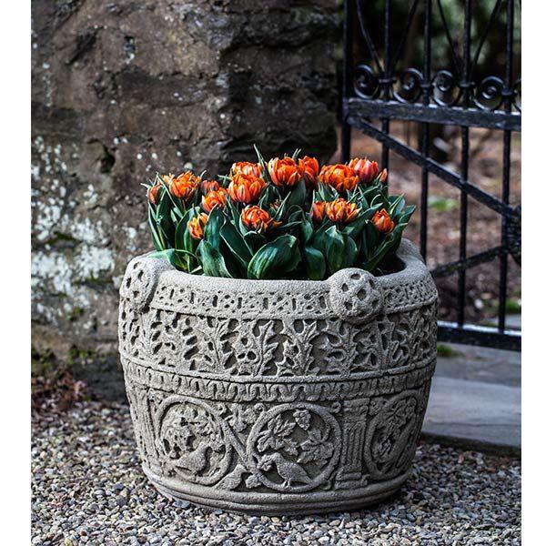 Large Antique Celtic Garden Planter P 694