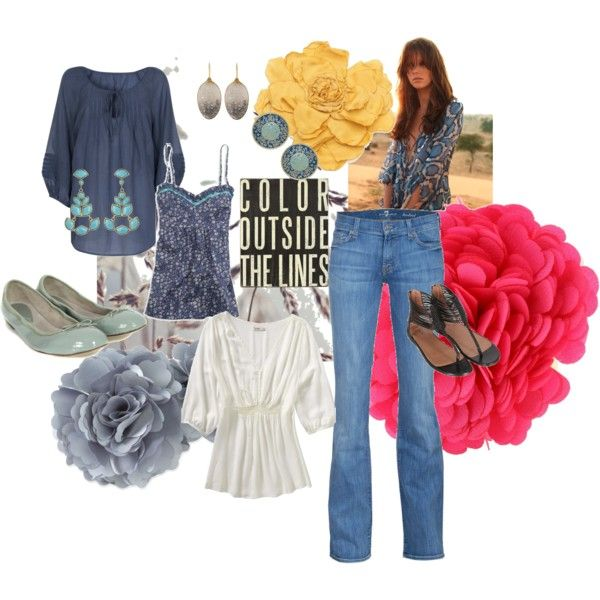 Peasant look for City Girls, created by isabelescobardebuechsel.polyvore.com