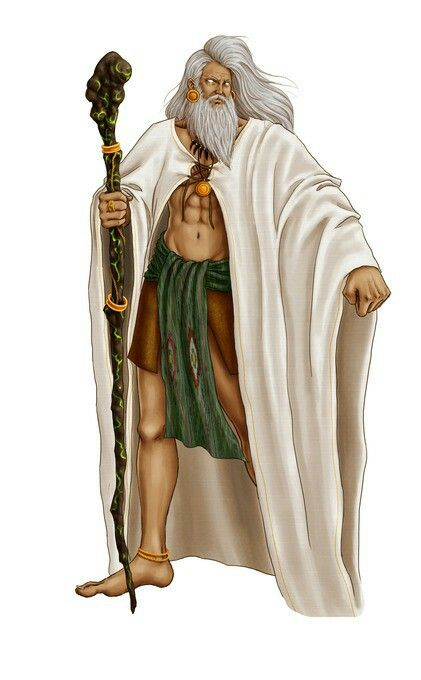 Bathala- Philippine myth: omnipotent and supreme creator of
