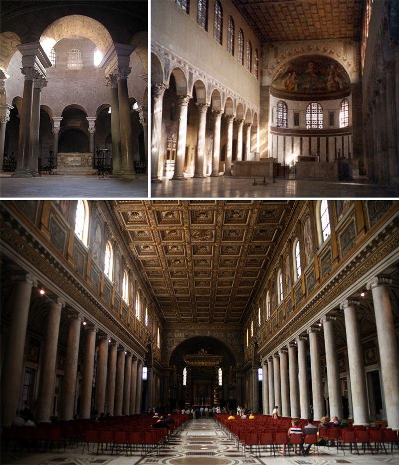 le architetture paleocristiane e la luce