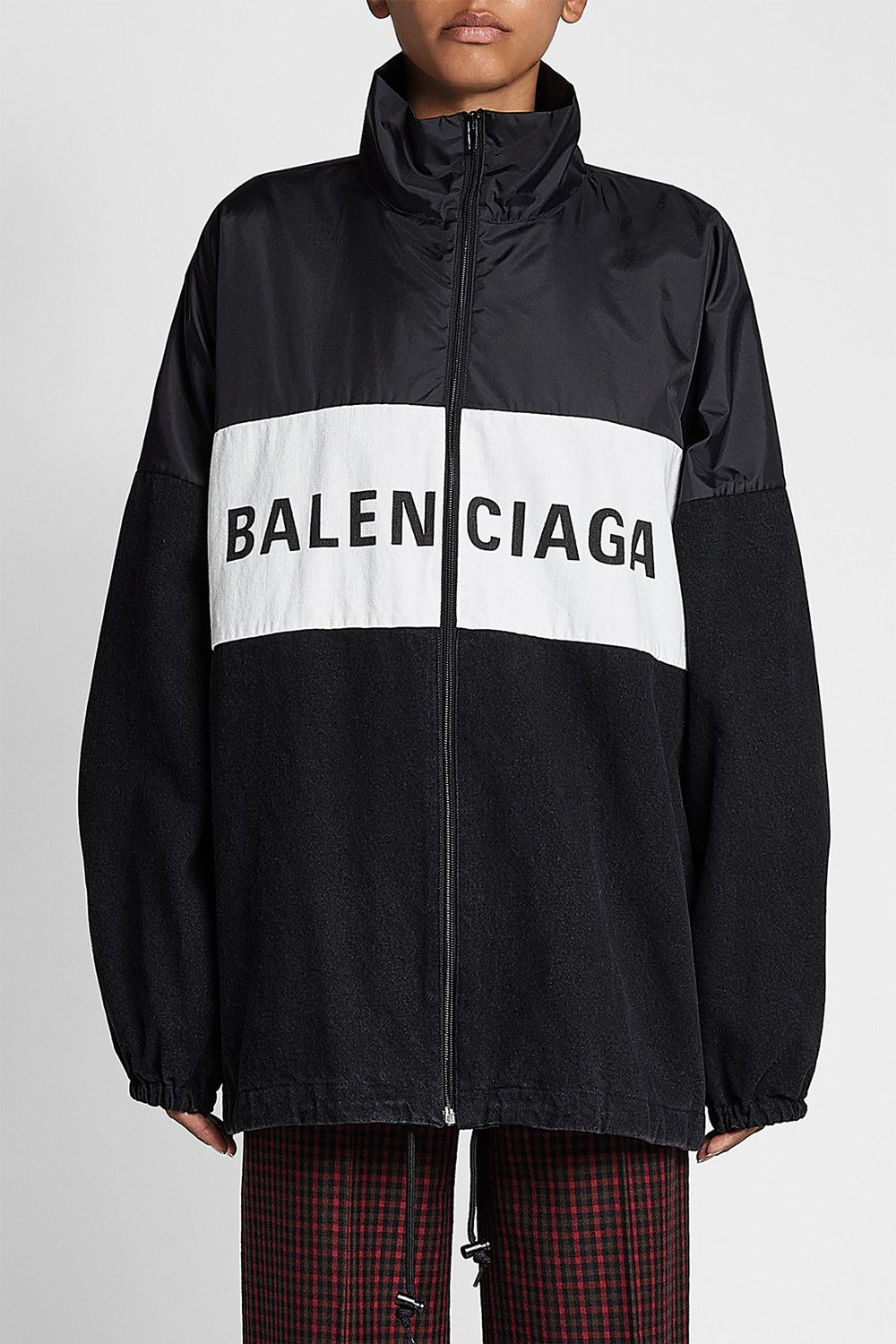 2b35617e3c4 Balenciaga s Logo Windbreaker Is the Only Jacket You ll Need This ...