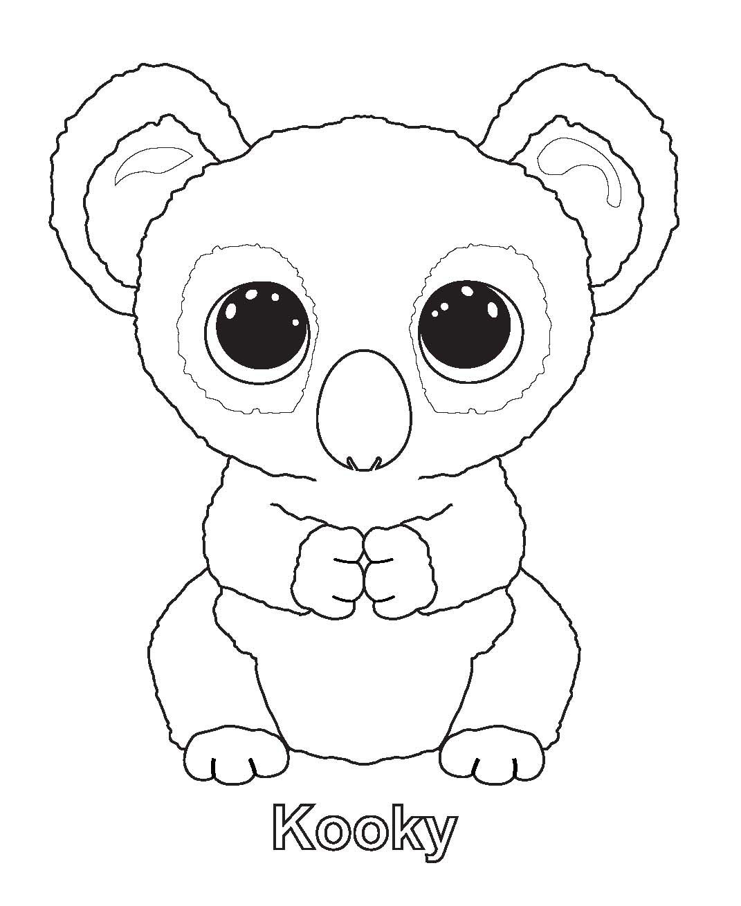 Beanie Boo Coloring Pages Beanie Boo Birthdays Beanie Boo Party
