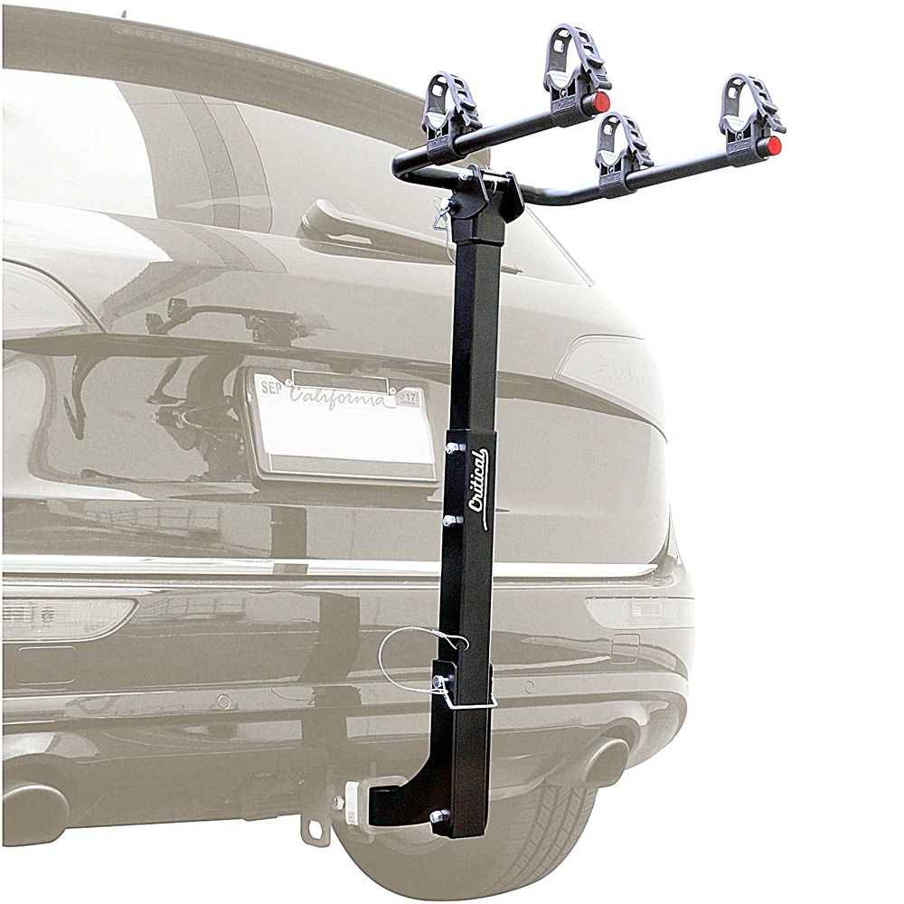 Hitch Mount Bike Deluxe Rack With 2 Inch Receiver Trunk
