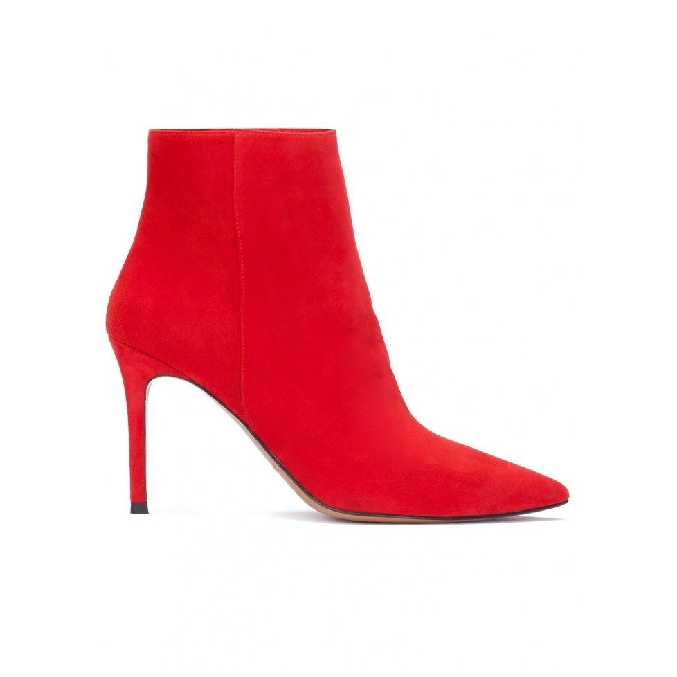 adidas botines de vestir para mujer rojos