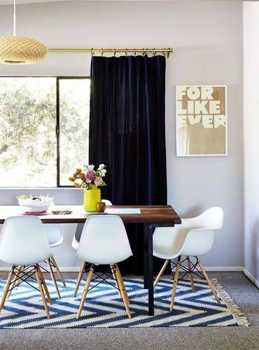 12 Chic Ways To Style Rugs Over Carpet Dining Room Rug Carpet