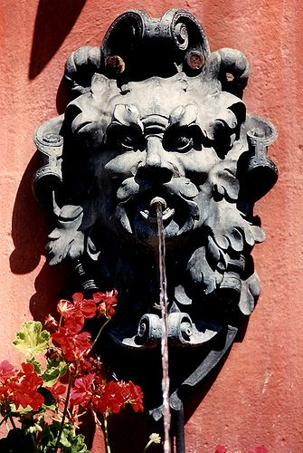 Provence fountain
