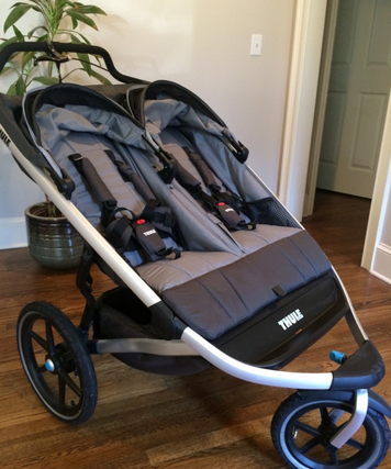 Thule Chariott Glide 2 Review Double jogging stroller