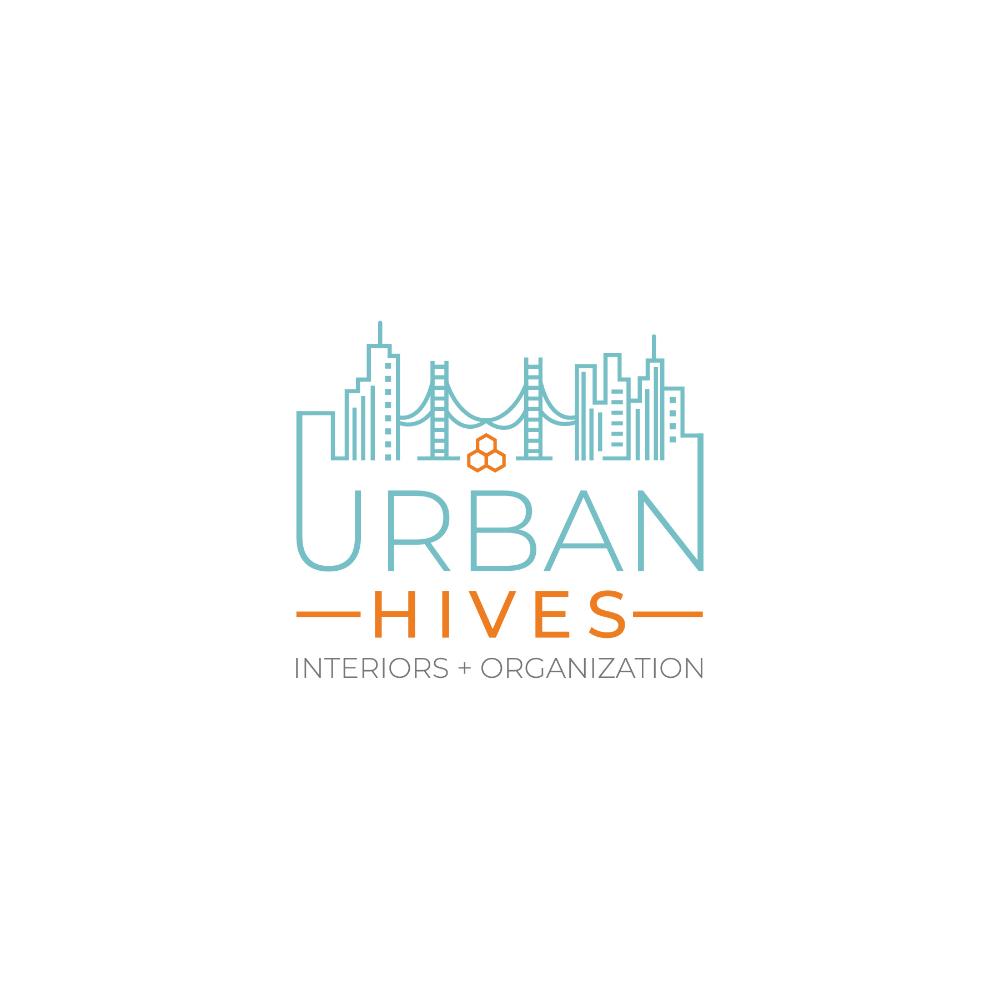 Design 115 By De S Gn Design A Funky Fresh Logo For Urban Hives Interiors Organization Real Estate Logo Design Association Logo Building Logo
