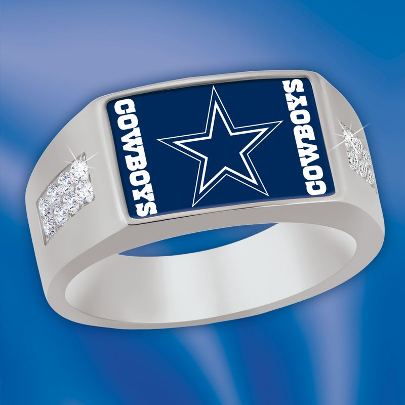 The Dallas Cowboys Men S Diamenz Ring The Danbury Mint Dallas Cowboys Rings Dallas Cowboys Dallas Cowboys Jewelry