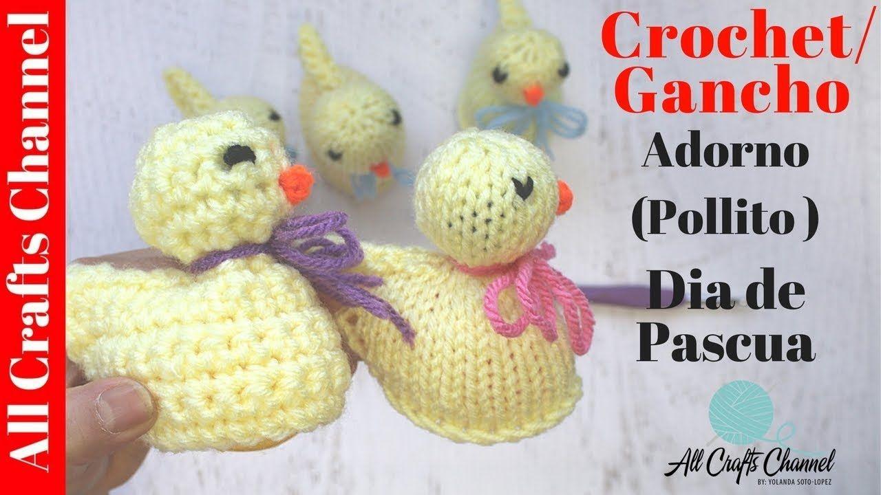 Como tejer un adorno para huevos de dia de pascuas   cat crochet ...