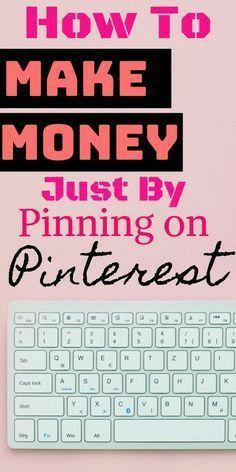 How to make money online using Pinterest