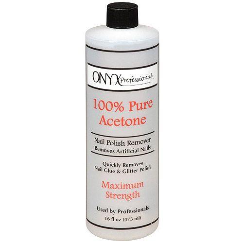 Onyx Professional 100 Pure Acetone Maximum Strength Nail Polish Remover 16oz Bottle Walmart Com Types Of Nail Polish Nail Polish Remover Lavender Nail Polish