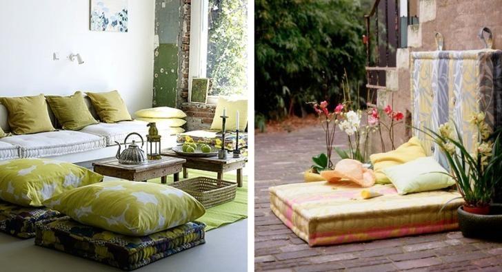 Coussin de sol extérieur – idées pour le jardin et la terrasse ...