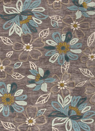 Jaipur Rugs Inc Hand Tufted, Daisy Chain Taupe Gray/Taupe Gray, 5 by 7.6 Feet Jaipur Rugs,http://www.amazon.com/dp/B005EOKEJO/ref=cm_sw_r_pi_dp_h8Ojtb1R1SB5S4QF