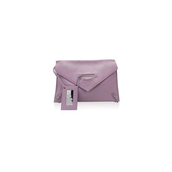 balenciaga purple wallet