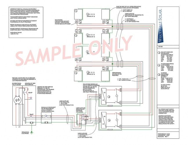 Electrical wiring diagrams from wholesale solar regarding