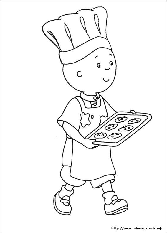 Caillou coloring picture | My coloring book | Pinterest | Caillou ...