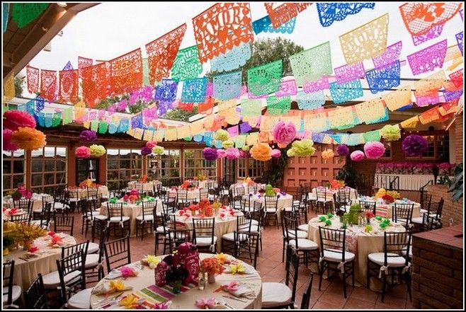 Mexican Wedding Decorations Ideas Home Decoration Wabrownrealtors