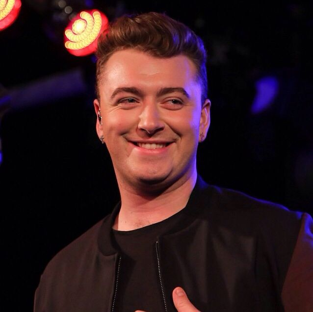 Ahw that smileeee Sam smith