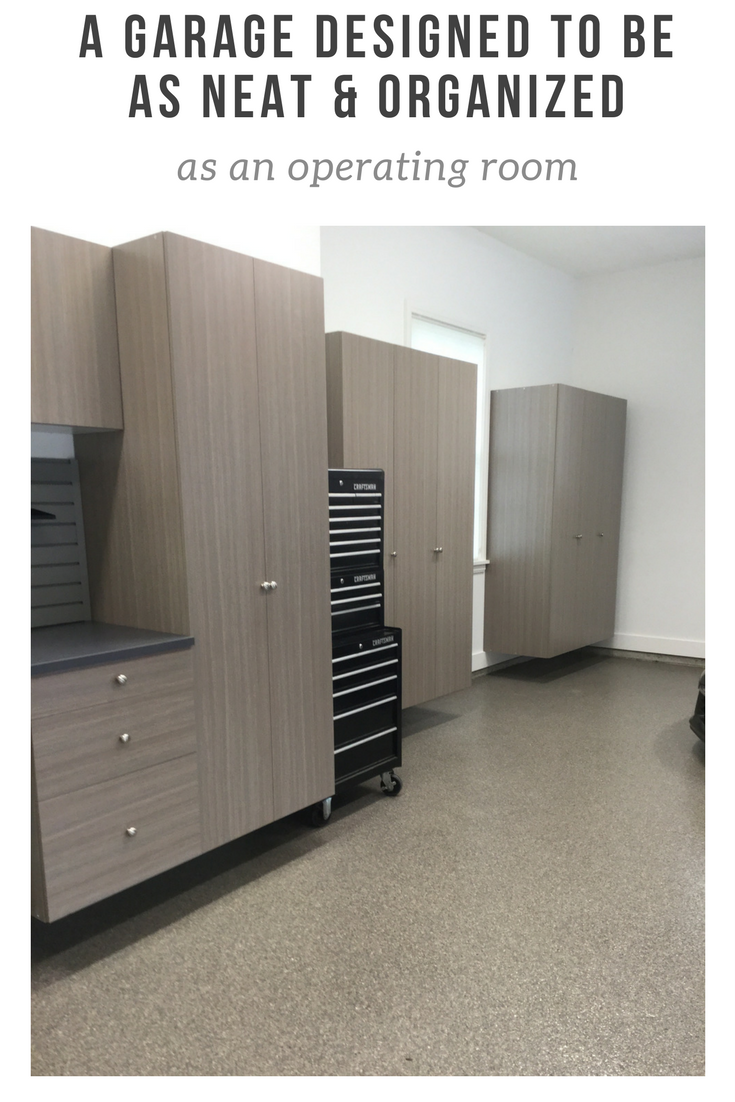 Operating Room Design: A Garage Designed To Be As Neat And Organized As An