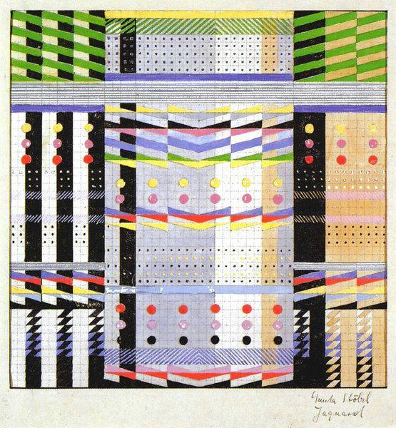 by Gunta Stölzl, Bauhaus archive