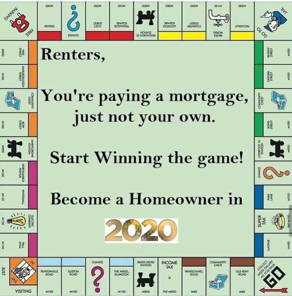 So You Really Think You Cant Afford A Mortgage Huh Time To